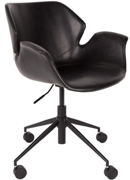 zuiver_nikki office chair_roomfactory_black