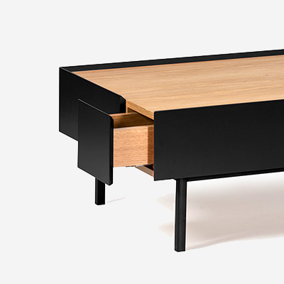 Teulat_Arista_coffee_table_2_drawers_det1